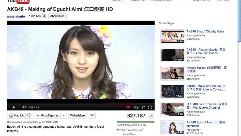 Eguchi Aimi ist gar nicht echt: Popstars waren aber ohnehin schon immer Illusion
