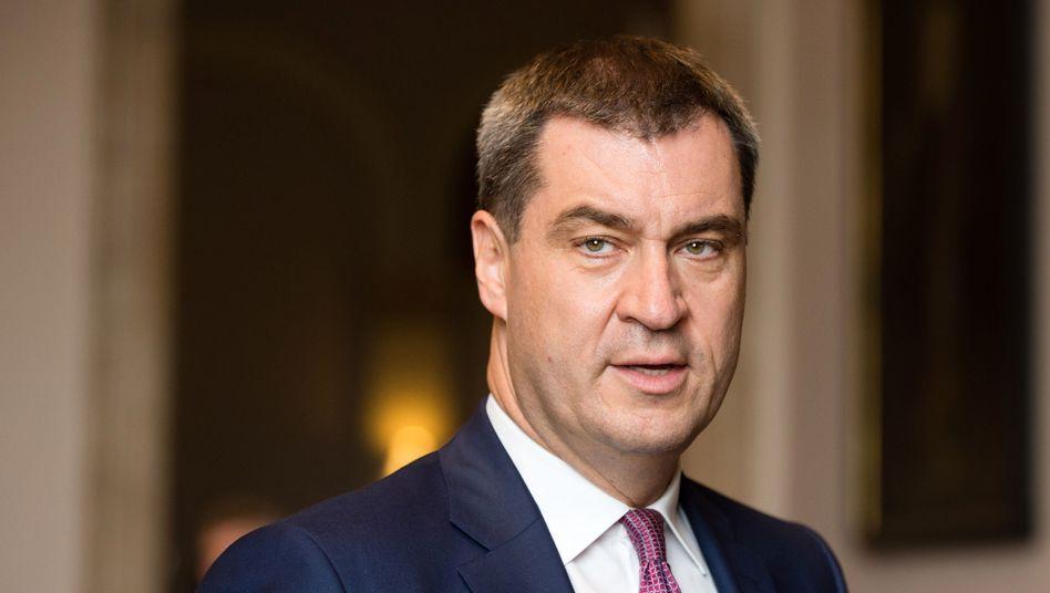 Bayerns Finanzminister Markus Söder