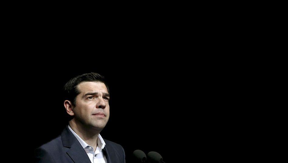 Griechenlands Ministerpräsident Tsipras: Soll noch am Donnerstag zurücktreten