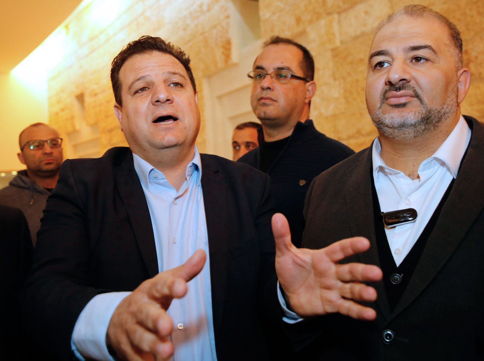 ISRAEL-POLITICS-VOTE-ARABS Ayman Odeh