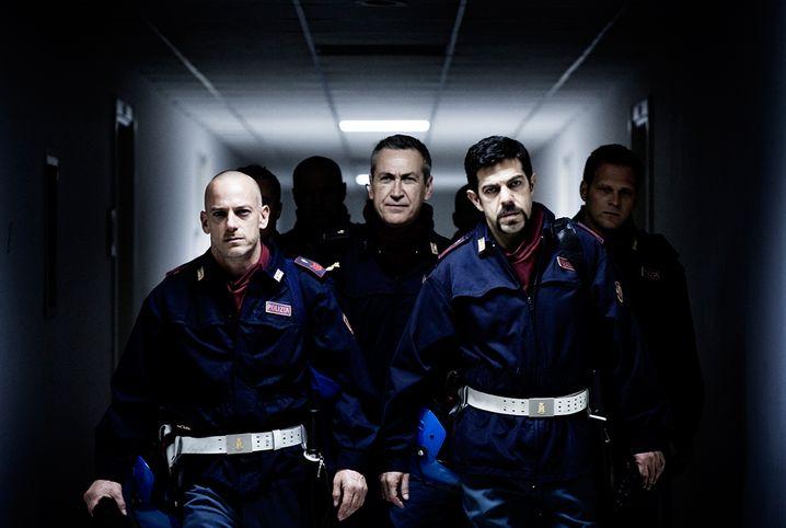 "Szene aus der Verfilmung ""A.C.A.B. - All Cops Are Bastards"""