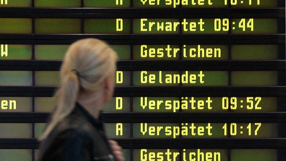 Verspätungen am Flughafen: Mehr Entschädigung dank EU-Urteil