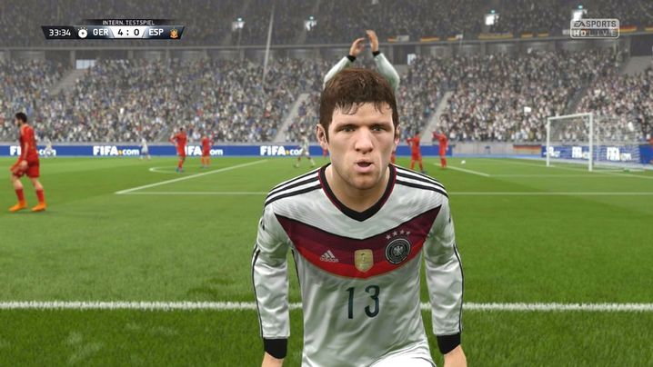 """Thomas Müller in """"Fifa 16"""""""