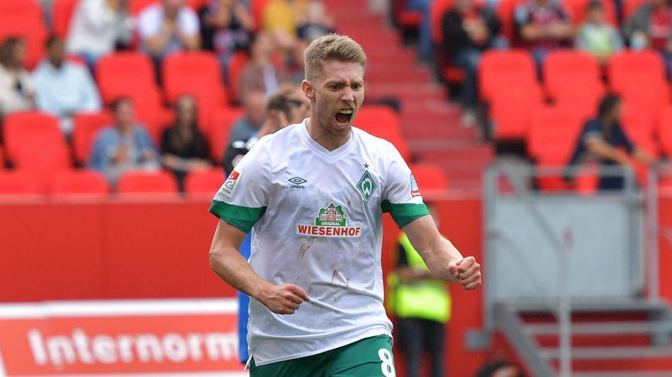 Mitchell Weiser bei Werder: Hat gleich funktioniert