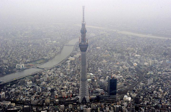 Tokyo Sky Tree: Rekordbau vollendet
