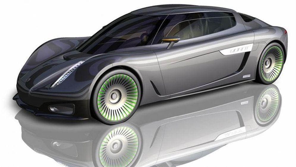Prototyp: Streit um Sportwagen mit Sonnenkraft