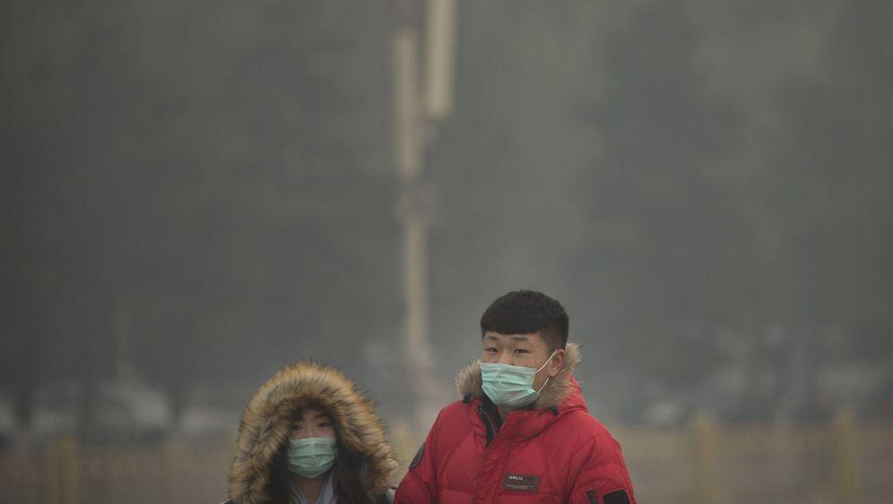 Smog in Peking: Röcheln nach Luft
