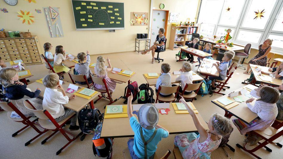 Schulklasse in Mecklenburg-Vorpommern (Symbolbild)