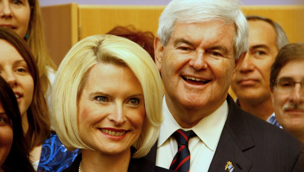 Vorwahl der US-Republikaner: Newt Gingrich im Umfragehoch