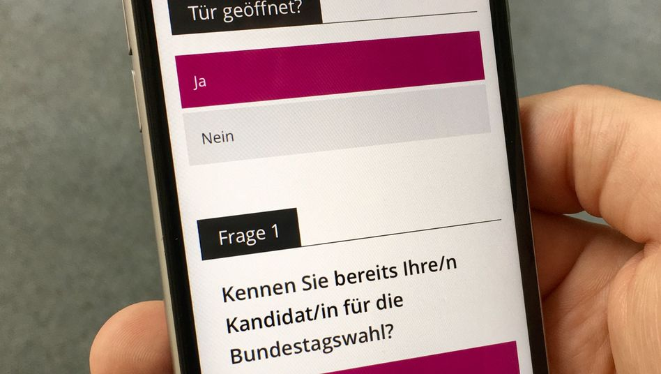 SPD-App Tür zu Tür