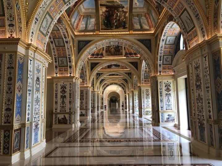 Huawei-Gästehaus in Shenzhen: Bizarre Mischung aus Zarenpalast und Akropolis