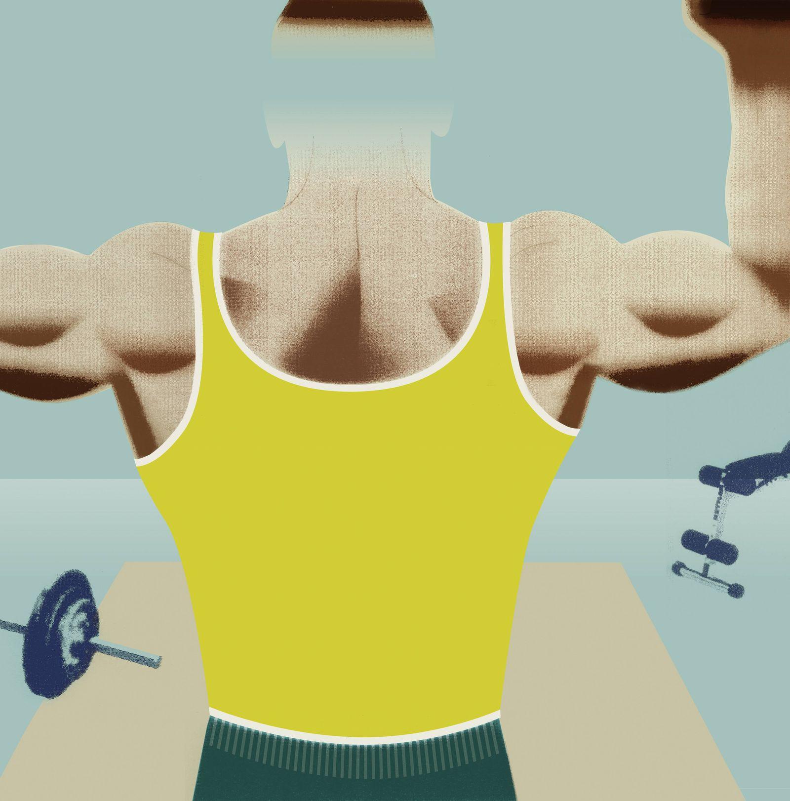 EINMALIGE VERWENDUNG Rätselhafter Patient / Bodybuilding