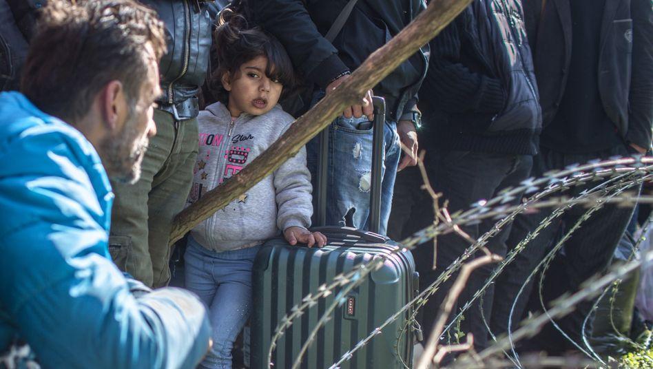 Flüchtlinge an der türkisch-griechischen Grenze: Von Erdogan benutzt