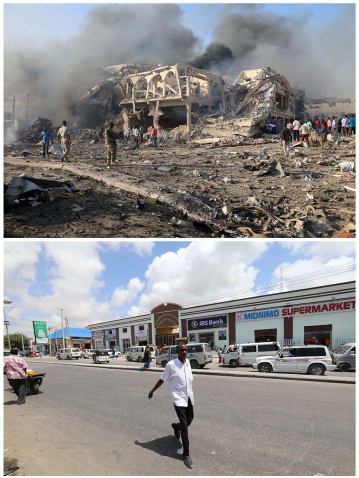 Anschlag in Mogadishu 2017