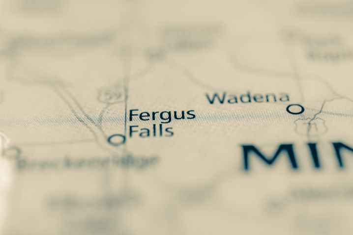 Fergus Falls, Minnesota, USA.