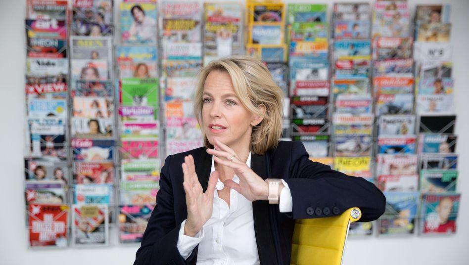 Julia Jäkel, Vorstandsvorsitzende von Gruner + Jahr