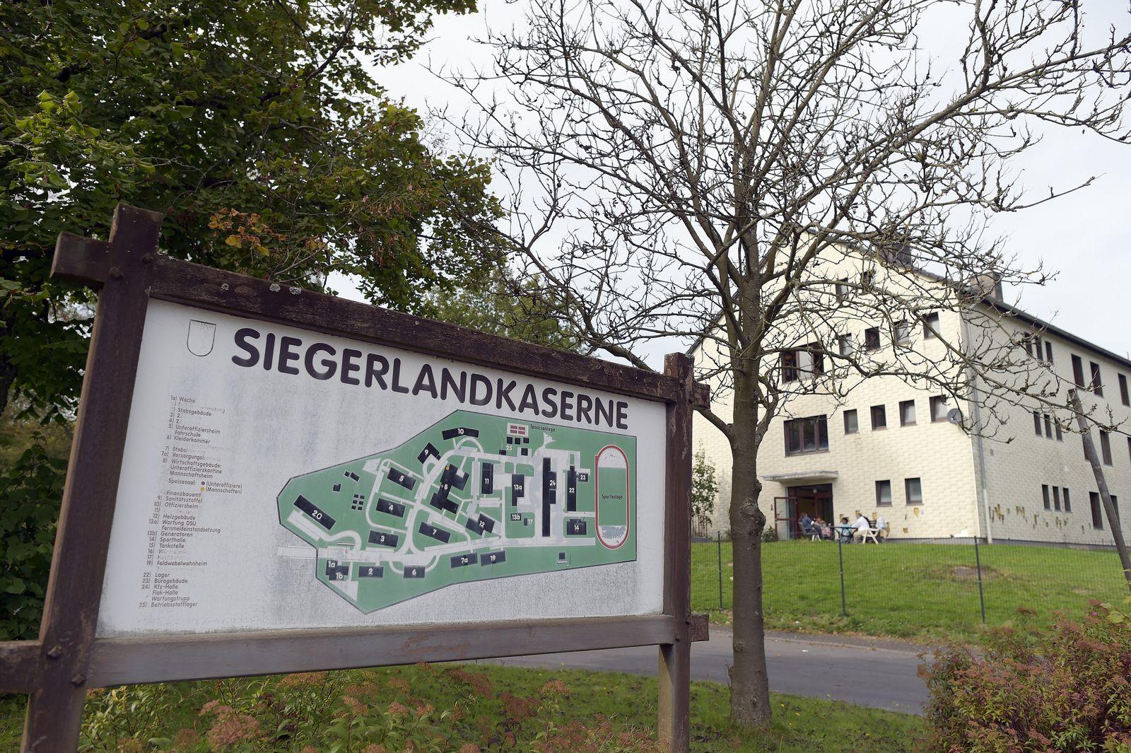 Flüchtlingsheim Burbach