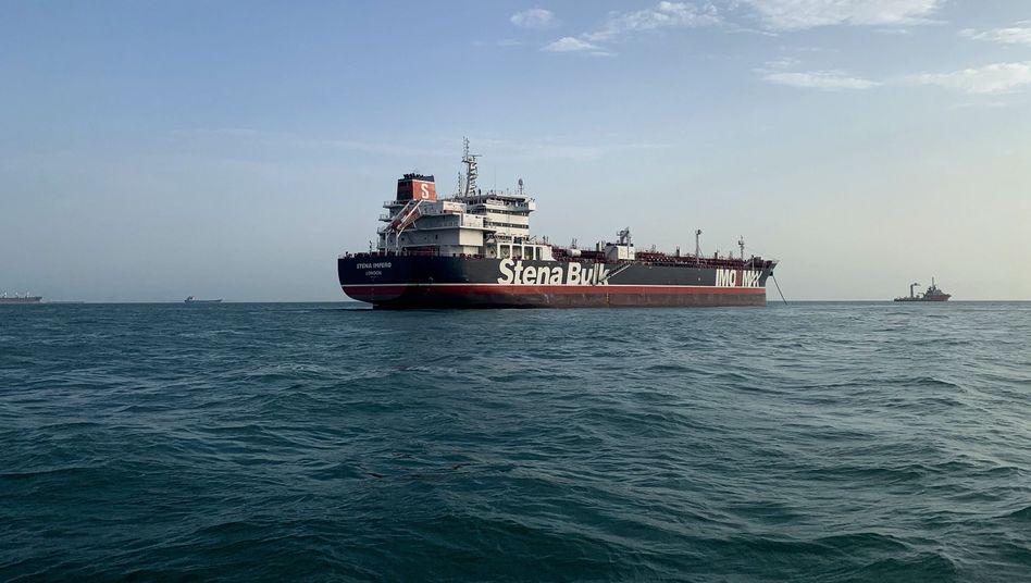 """Von Iran festgesetzter britischen Öltanker """"Stena Impero"""": Teheran bietet Austausch an"""