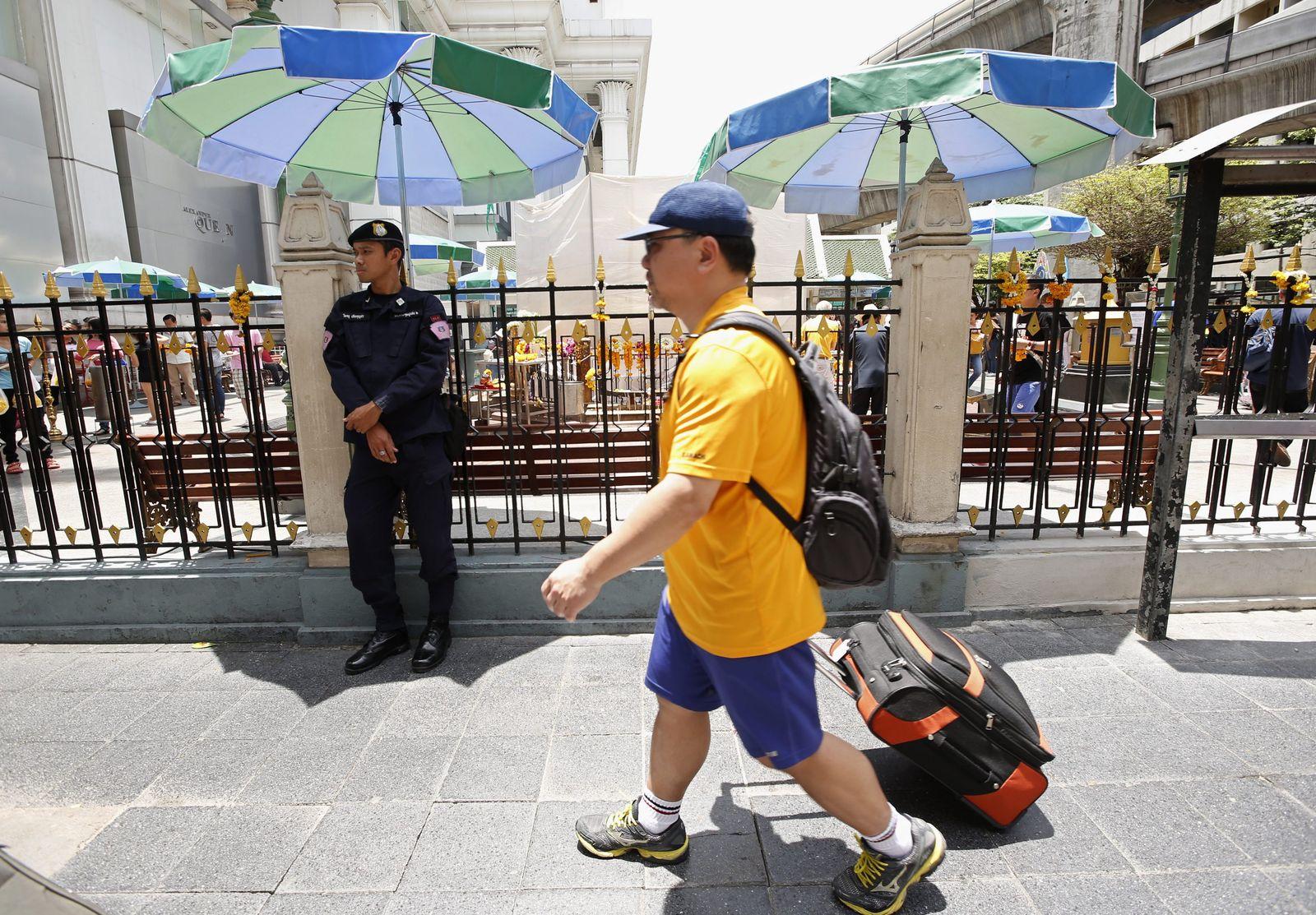 Thailand Anschlag Fahndung