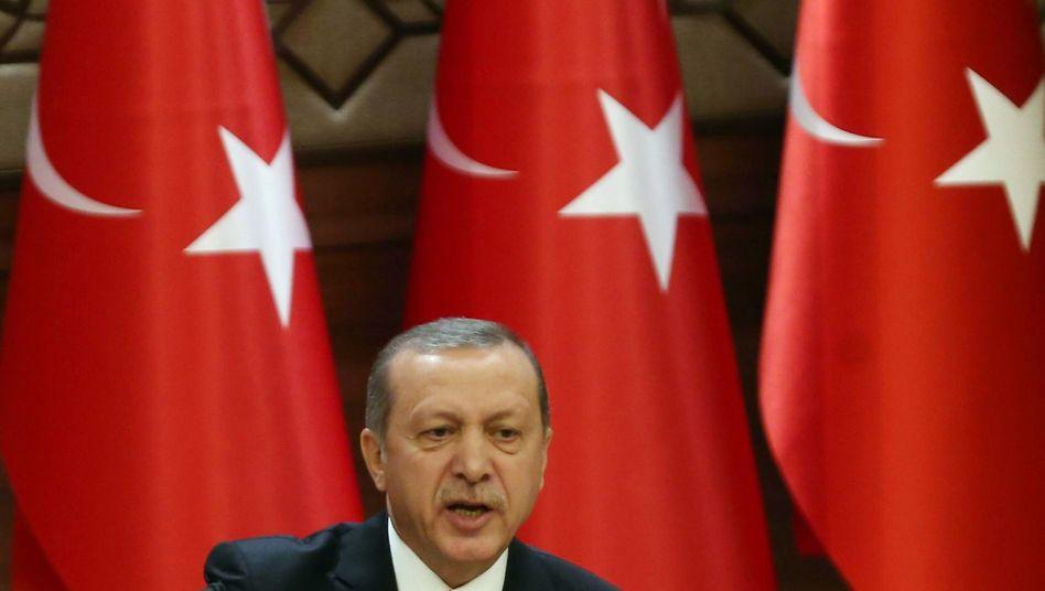 Türkischer Präsident Erdogan: Schuld liegt nicht bei uns