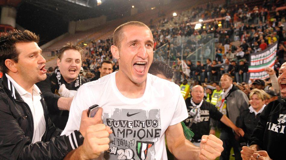 Juventus-Verteidiger Chiellini: Meister in Italien