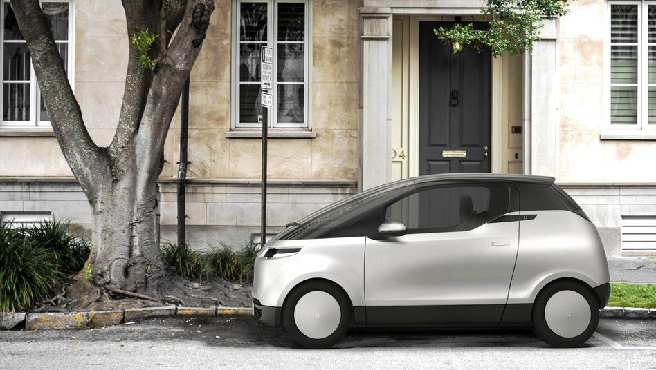 Das schwedische Start-up Uniti hat das Elektro-Kleinstauto One entwickelt