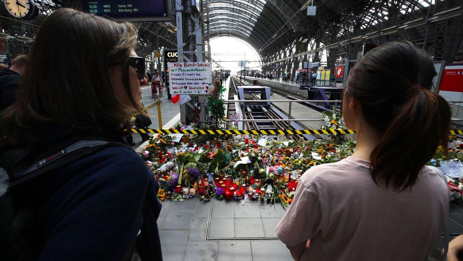 Gedenkstelle am Frankfurter Hauptbahnhof