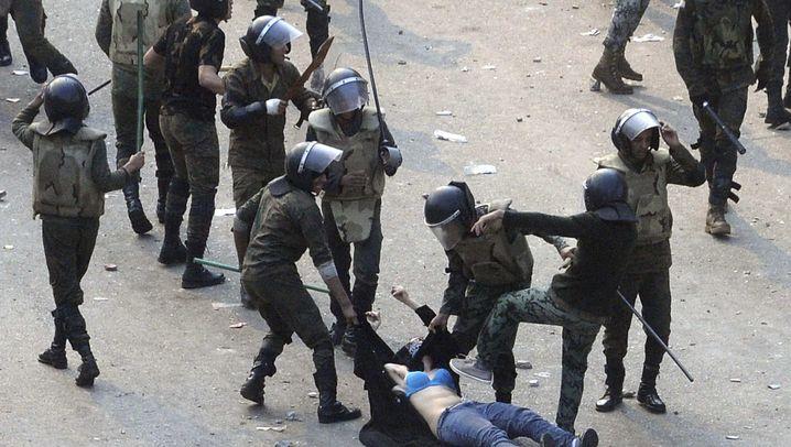 Ägypten: Gewalt auf dem Tahrir-Platz