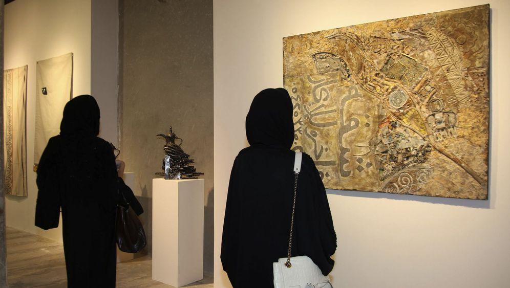 Moderne Kunst aus Saudi-Arabien: Verboten, schändlich, unnütz