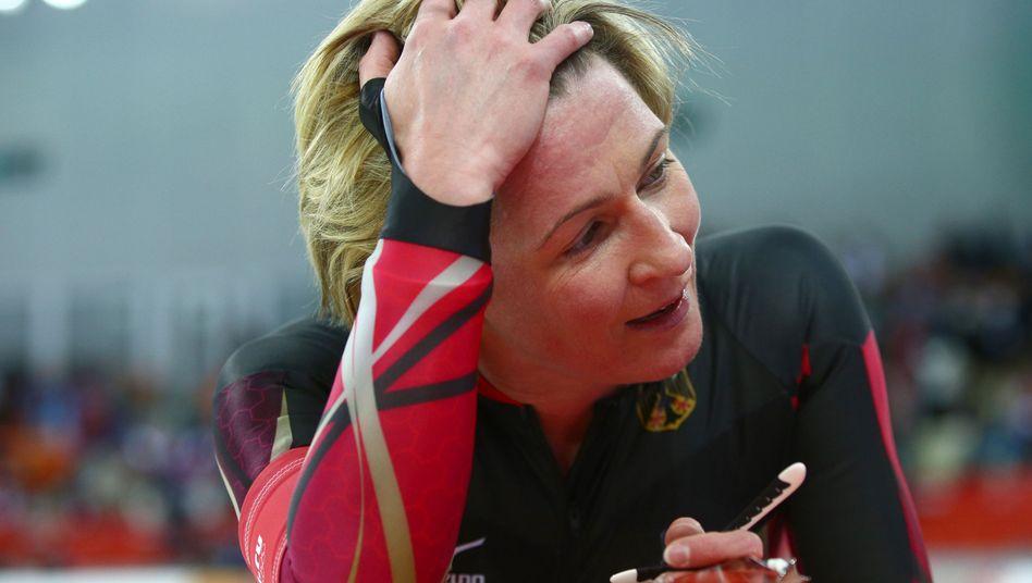 Eisschnellläuferin Pechstein: In Sotschi ohne Medaille