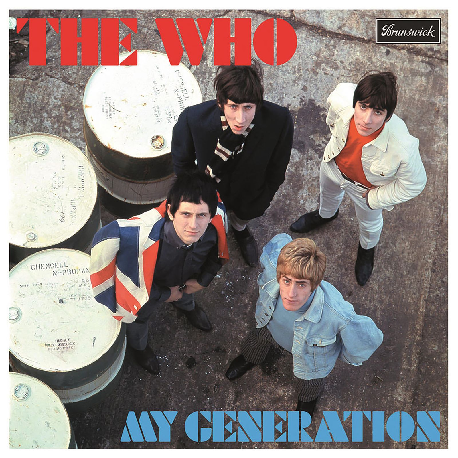 Pete Townshend - The Who My Generation Cover
