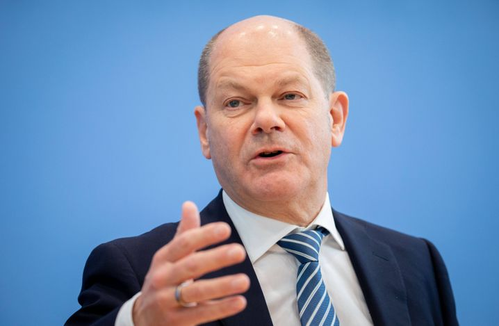 German Finance Minister and Vice Chancellor Olaf Scholz
