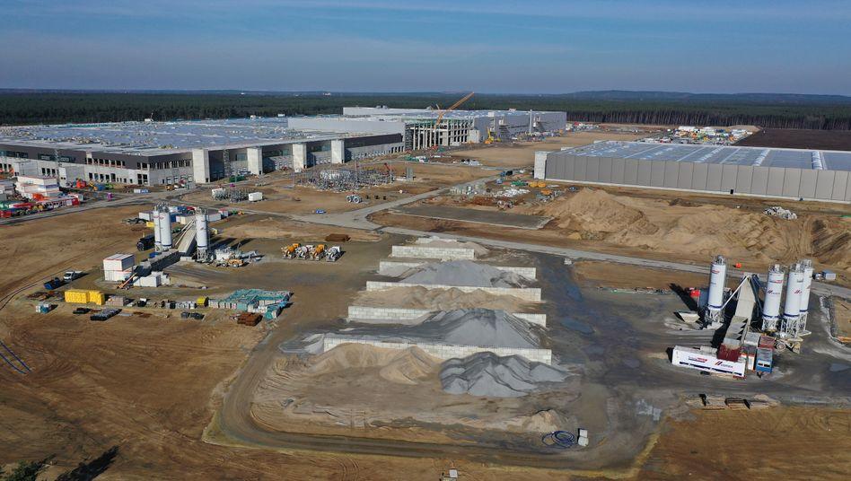 Tesla-Baustelle in Grünheide: Klagen werden folgen