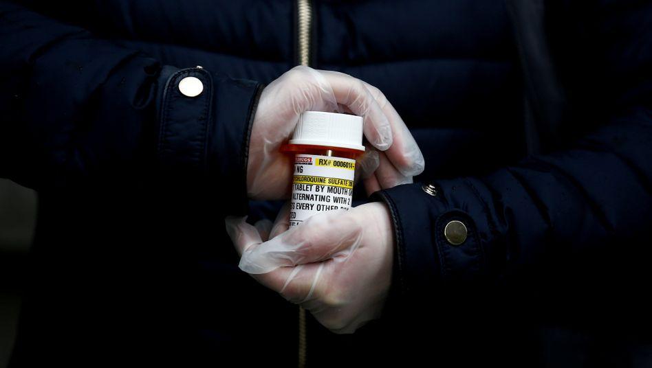 Medikament Hydroxychloroquin (Symbolbild): Wirkung gegen das Virus höchst fragwürdig