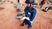 Asteroiden-Proben in Australien angekommen