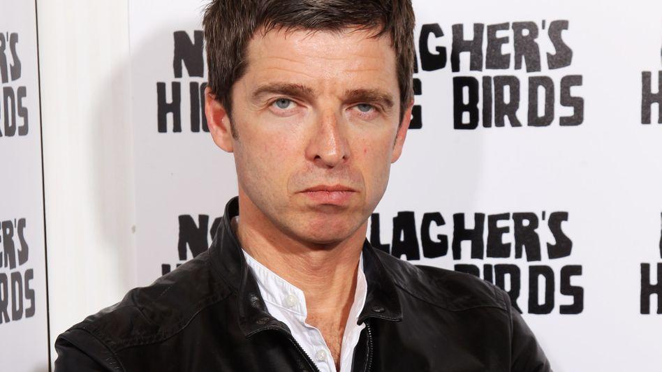 Noel Gallagher wie man ihn kennt: Immer schön schlecht gelaunt und siegessicher