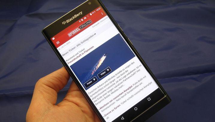 Mehr Privatsphäre: Blackberry Priv