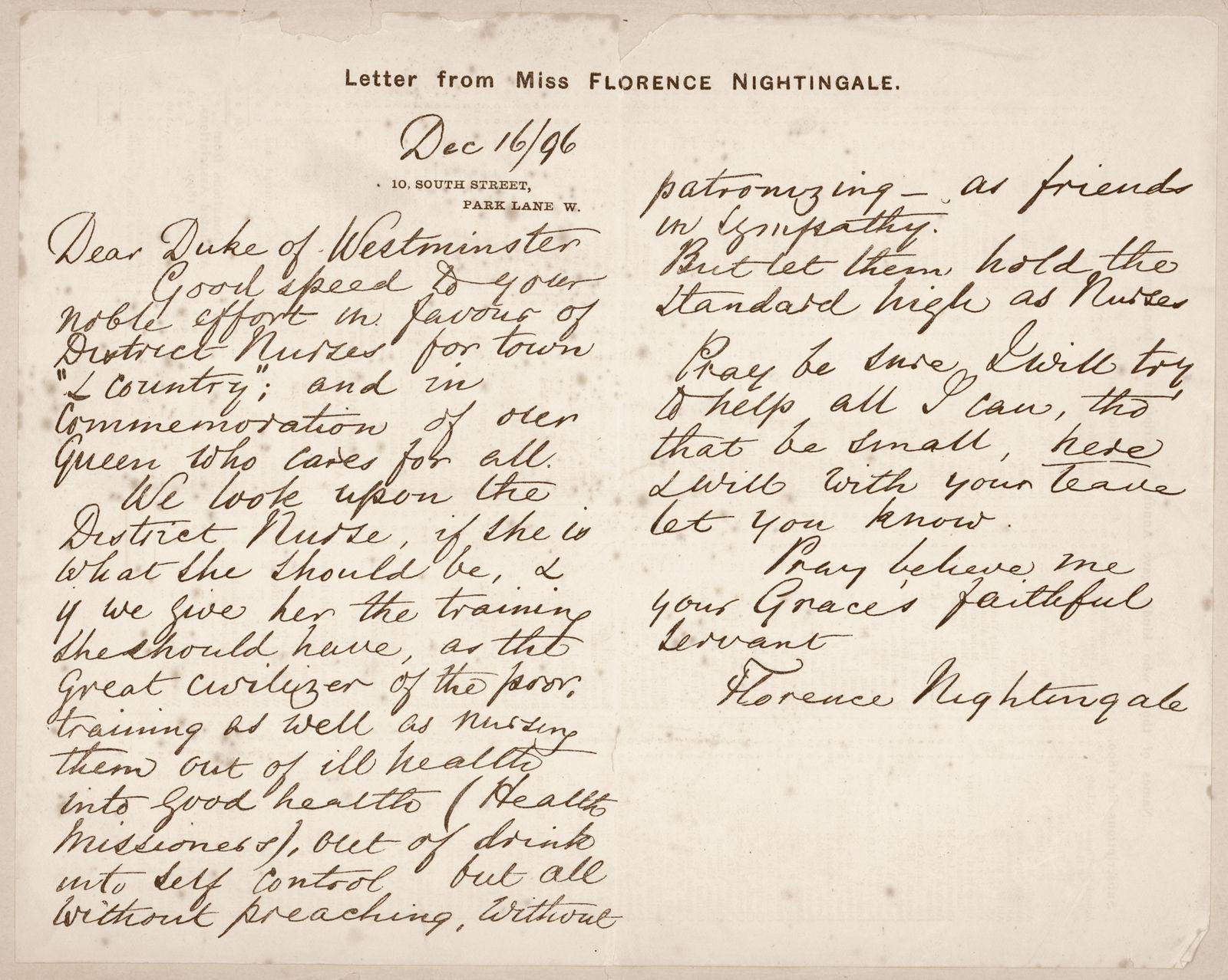 Nightingale Letter