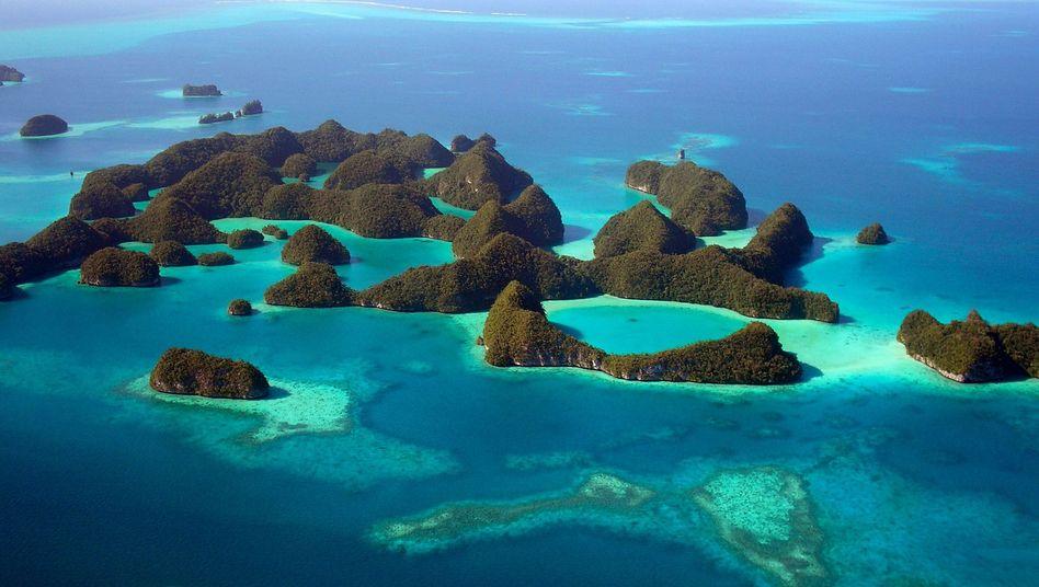 Paradies Palau: Nur elf von 356 Inselchen sind bewohnt