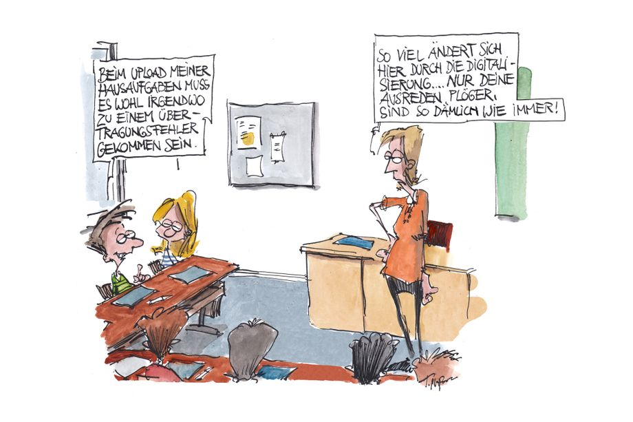 Cartoons der Woche: Von einem sinkenden Schiff zum nächsten
