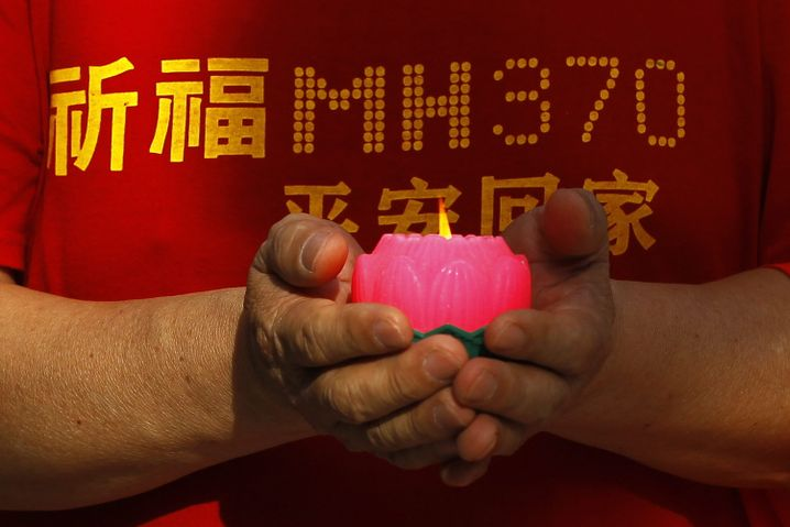 Gedenken an die Opfer von MH370 (März 2014, in Kuala Lumpur)