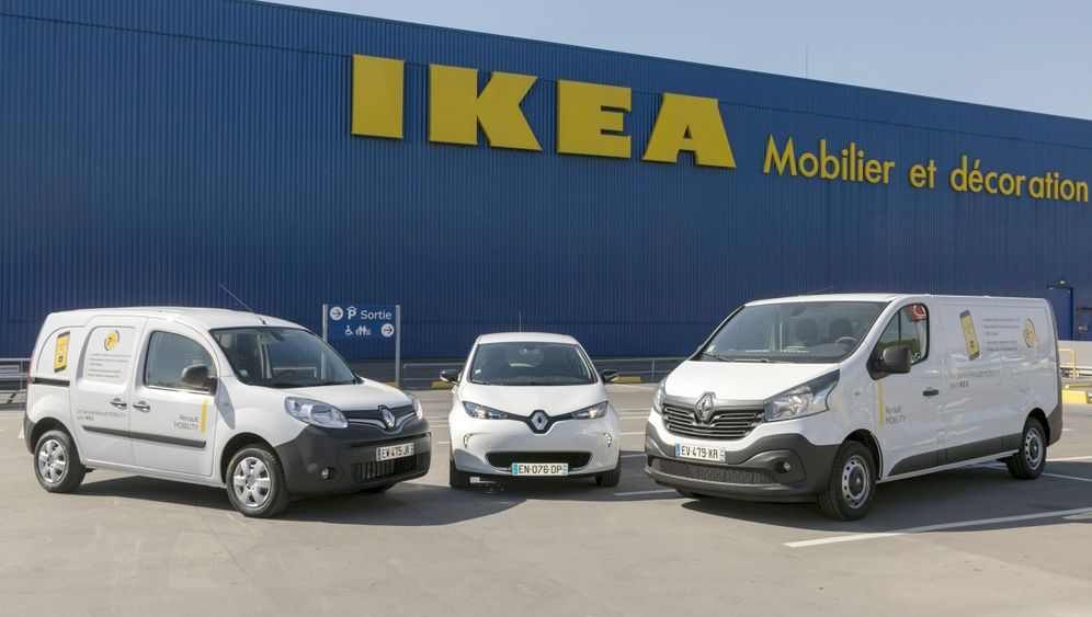 Car-Sharing bei Ikea: Ikea to drive