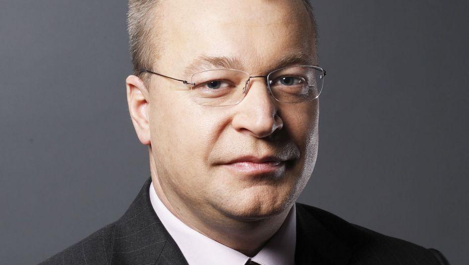 Stephen Elop: Der Nokia-Chef ist erst seit ein paar Monaten im Amt