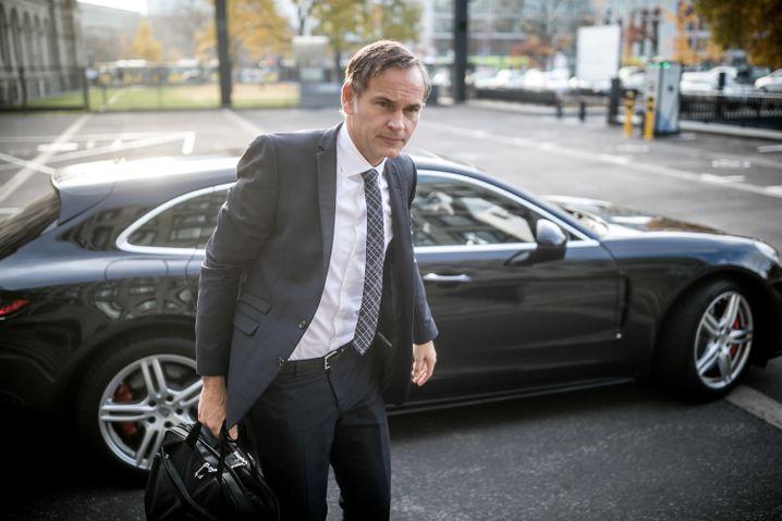 Oliver Blume, Chef der Porsche AG, kommt für die VW-Gruppe zu dem Treffen
