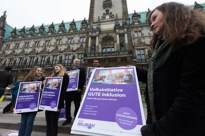 """Volksinitiative """"Gute Inklusion für Hamburgs SchülerInnen"""""""