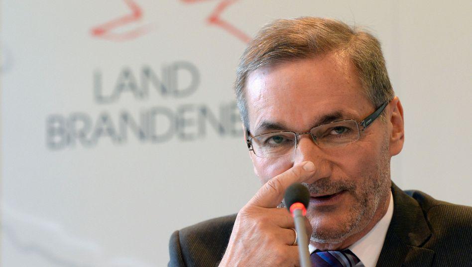 """Brandenburgs Ex-Ministerpräsident Platzeck (2013): """"Endlich einen Schritt vorankommen"""""""