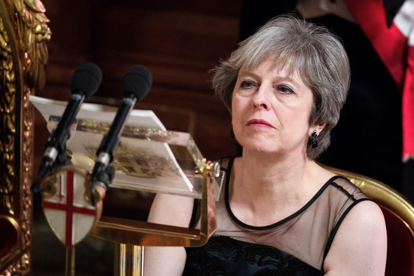Theresa May/ Kritik