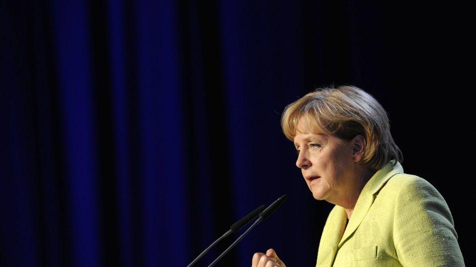"""Bundeskanzlerin Merkel in Neumünster: """"Was kann ich für Land tun?"""""""