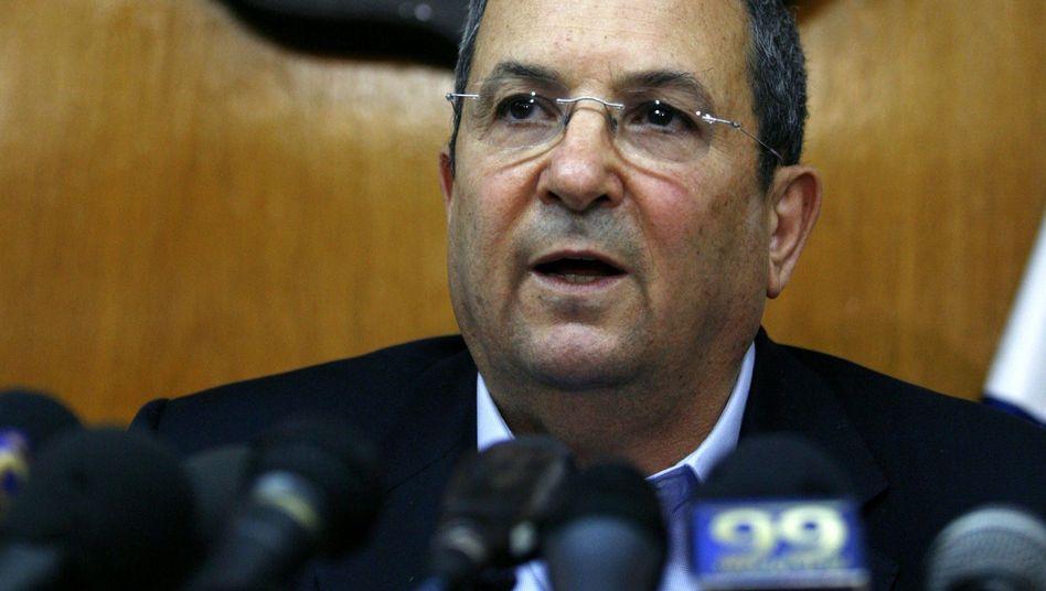 """Israels Verteidigungsminister Barak: """"Solche Äußerungen schaden den Interessen Israels"""""""