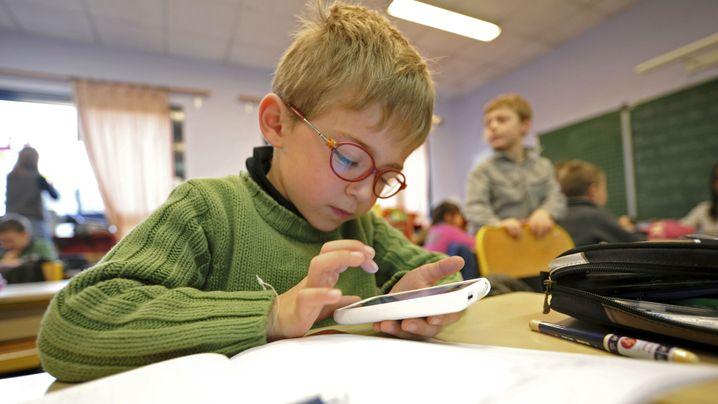 Twitter an Grundschulen: Online first